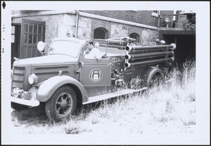 Canton Fire Dept. Engine 5 at Central Fire Station, Canton