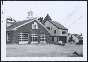 Ponkapoag Fire Station, old