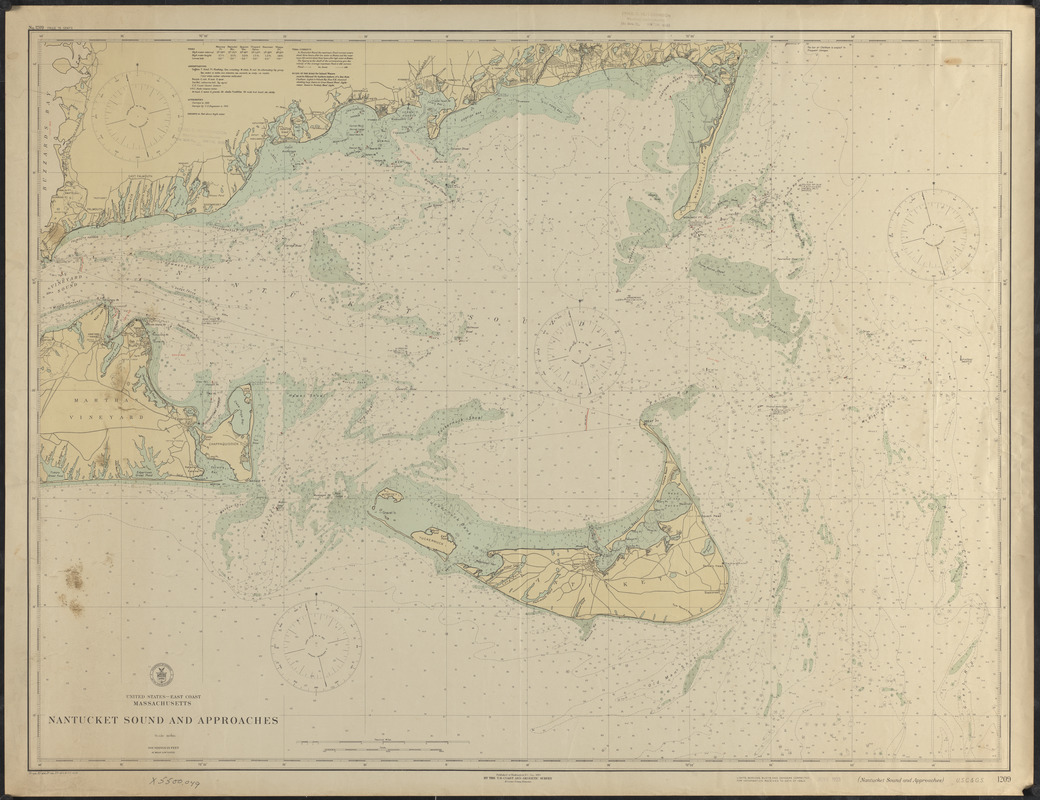 Nantucket Sound and approaches