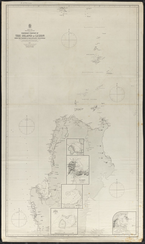 Northern portion of the island of Luzon with the Bashee & Balintang Channels