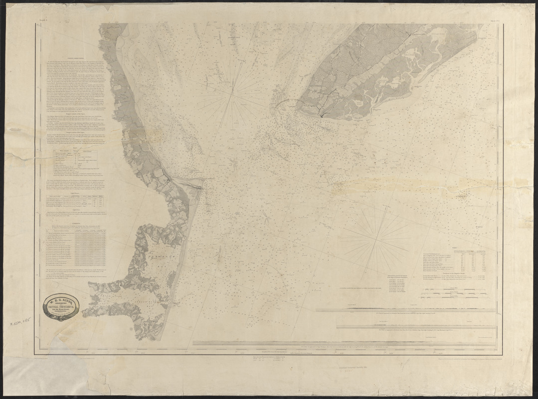 Map of Delaware Bay and River