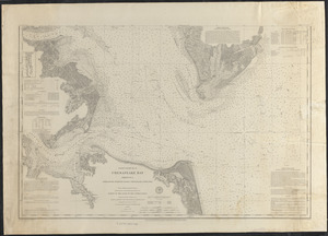 Chesapeake Bay, sheet no. 1, York River, Hampton Roads, Chesapeake entrance