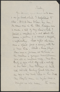 Celia Thaxter autograph letter signed to [Annie Fields, 1881]