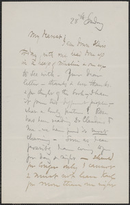 Celia Thaxter autograph letter signed to [Annie Fields, 1883?]