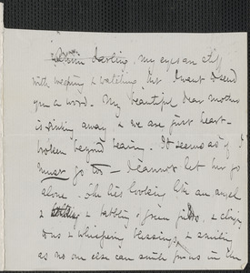 Celia Thaxter autograph letter signed to Annie Fields, 14 November [1877]