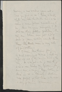 Celia Thaxter incomplete autograph letter signed to [Annie Fields, Summer 1881]
