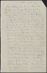 Celia Thaxter autograph letter signed to Annie Fields, [Kittery Point, Me.], 28 September [1881]