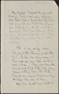 Celia Thaxter autograph letter signed to Annie Fields, [16 and 17 November 1881]