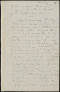 Celia Thaxter incomplete autograph letter signed to [Annie Fields, 28 November 1881]