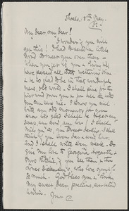Celia Thaxter autograph letter signed to [Annie Fields], Shoals, [N.H.], 18 May [18]82