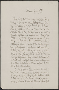 Celia Thaxter autograph letter signed to [Annie Fields], Farm [Kittery Point, Me.], 9 September [1883]