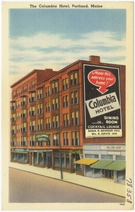The Columbia Hotel, Portland, Maine