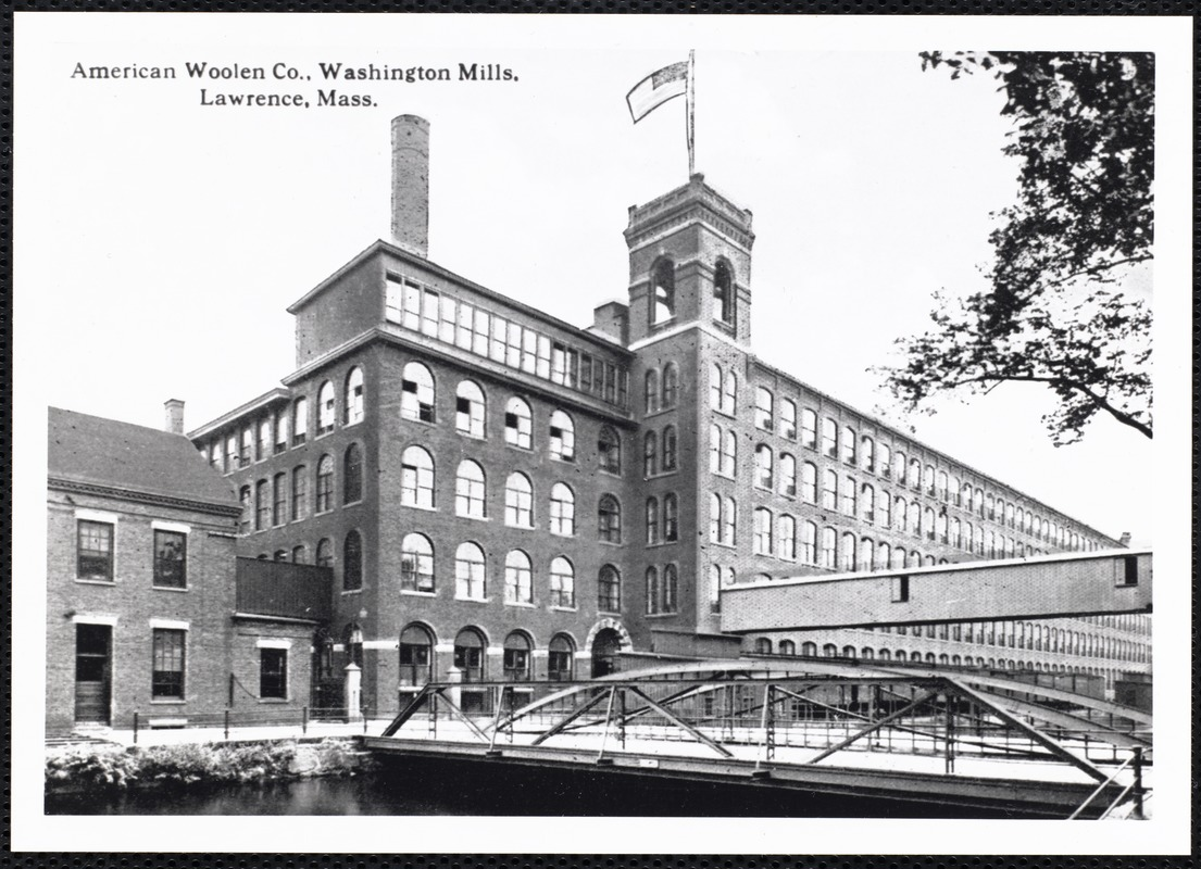 American Woolen Co., Washington Mills, Lawrence, Mass.