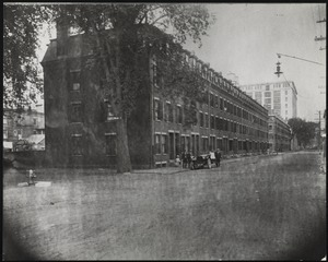 Corporation Houses, Methuen Street, looking east from Mill Street