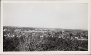 View from observation tower, April 1944