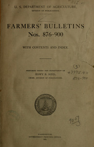 Farmer's bulletins.