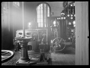 Sudbury Department, Sudbury Dam Hydroelectric Power Plant, interior, Southborough, Mass., Feb. 7, 1917