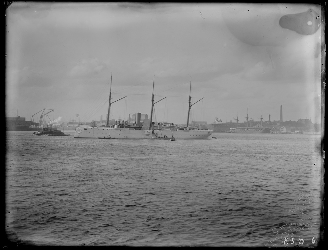 Ships in harbor no. 3