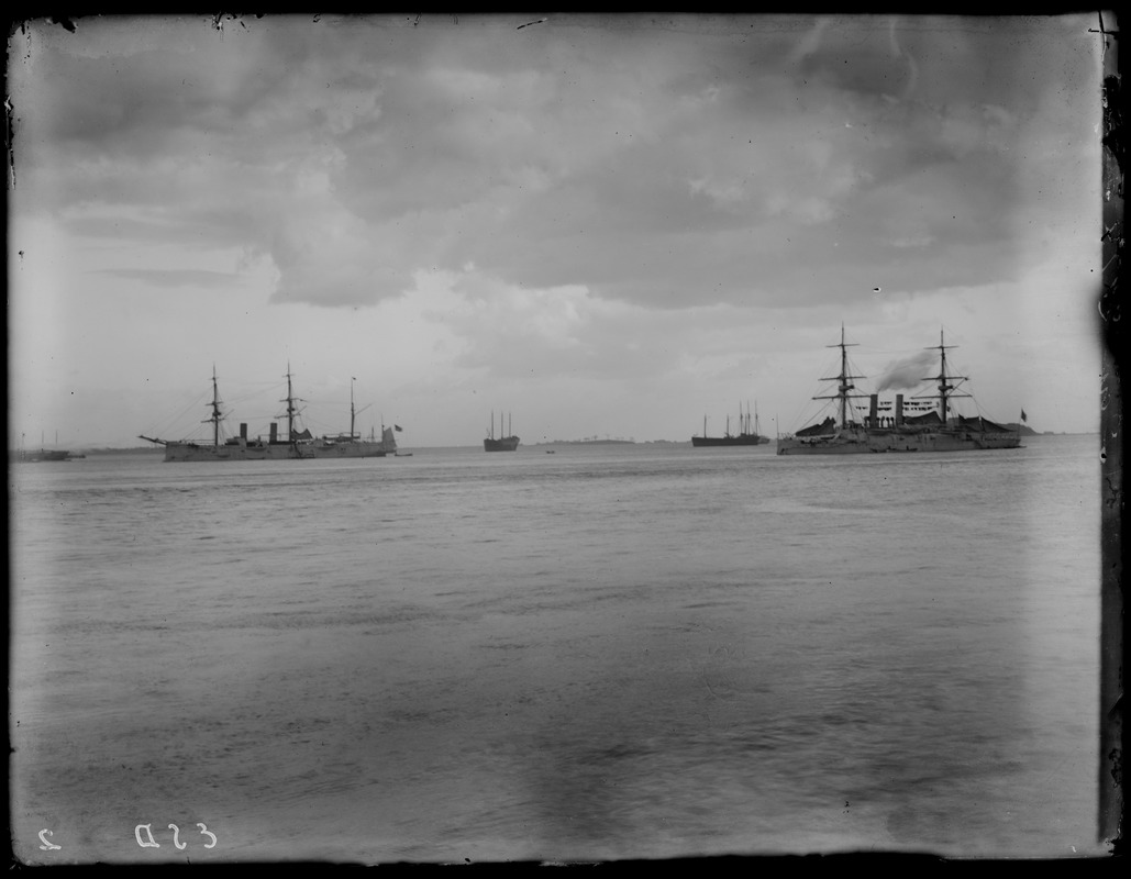 Ships in harbor no. 5
