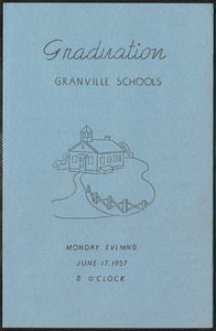 1957 Granville Village School graduation