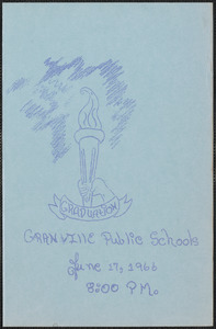 1966 Granville Village School graduation