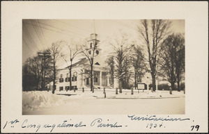 1st Congregational Parish, Unitarian