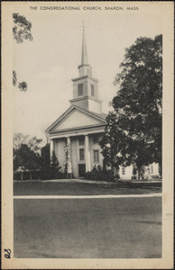 The Congregational Church, Sharon, Mass.