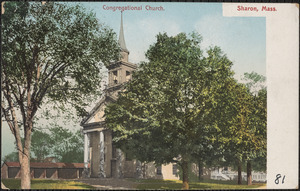 Congregational Church, Sharon, Mass.