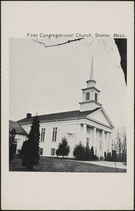 First Congregational Church, Sharon, Mass.