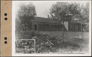 Adam Waurecuik and wife, house, Prescott, Mass., Sep. 23, 1927