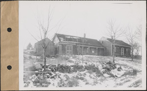 Adam Waurecuik and wife, house, Prescott, Mass., Dec. 27, 1927