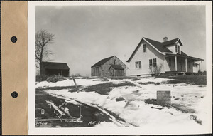 A. E. Hussey, house, barn, and shed, Belchertown, Mass., Mar. 13, 1928