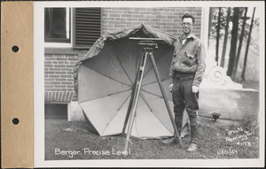 Berger Precise Level, for Harris, Enfield, Mass., Oct. 31, 1929