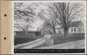A. P. Hortie, house and barn, Belchertown, Mass., May 16, 1932