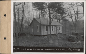 Almon Pratt estate, house of George R. Stone, Belchertown, Mass., Dec. 6, 1932