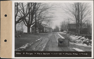 Alba D. Paige, barn and shed, New Salem, Mass., Jan. 17, 1933