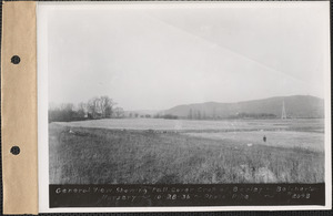 Belchertown Nursery, general view showing fall cover crop of barley, Belchertown, Mass., Oct. 28, 1936