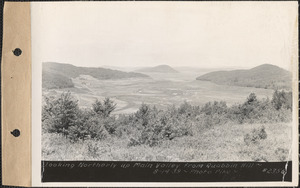 Looking northerly up main valley from Quabbin Hill, Quabbin Reservoir, Mass., Aug. 14, 1939