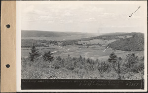 Looking westerly towards west valley from Quabbin Hill, Quabbin Reservoir, Mass., Aug. 14, 1939