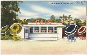 "Pals, ""Let's meet again at Pals"""