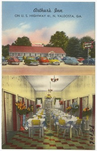 Arthur's Inn, on U.S. highway 41, N. Valdosta, Ga.