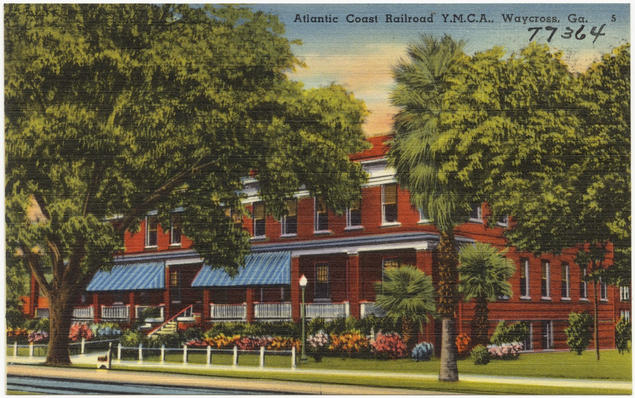 Atlantic Coast Railroad Y.M.C.A., Waycross, Ga.