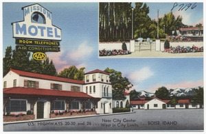 Mission Motel, near city center, U.S. highways 20-30 and 26, west in city limits, Boise, Idaho