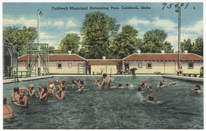 Caldwell Municipal swimming pool, Caldwell, Idaho