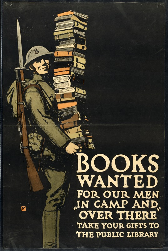 Books for Troops Overseas, World War I