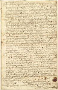 Deed, John Gillis to Samuel Billing, 1697