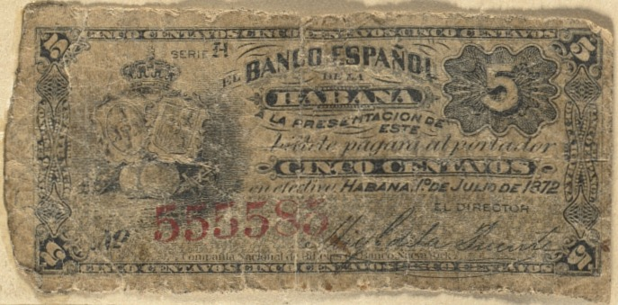 Cuban bank note