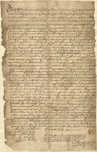 Deed, Francis Barnard, Hadley, to John Graves, Hatfield, August 1692