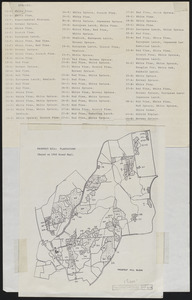 Plantation Maps of Prospect Hill Tract
