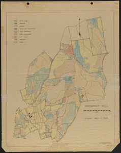 Prospect Hill Stand map 1908